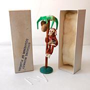 SOLD 1950s Smoking Monkey Mint In Original Box