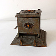 Antique Jeweled Mechanical Cigarette Dispenser