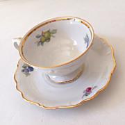 SOLD Schumann Arzberg Bavaria Germany Tea Cup & Saucer