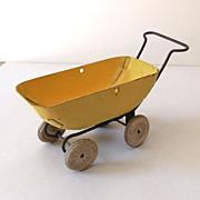SALE Vintage Wyandotte Metal Doll Baby Buggy