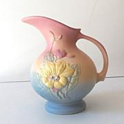 SALE Lovely Vintage Hull Art Pottery Pitcher Vase