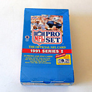 1991 Pro Set Box NFL Trading Cards Series I