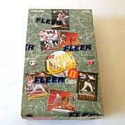1992 Fleer Ultra Baseball Factory Sealed Box Series 2