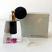SALE Gorgeous 1950s Atomizer Perfume Bottle In Original Box