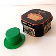 Vintage Miniature ADAM HATS Gift Sample Hat in Box