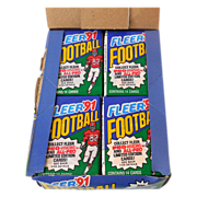 1991 Fleer Football Trading Cards  Wax Box 36 Packs
