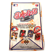 1991 Upper Deck BasebalL Cards Factory Sealed Box