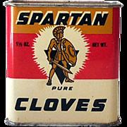 1950s Spartan Spice Tin Pure Cloves