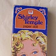 SALE 1976 Shirley Temple Paper Dolls In Original Box