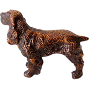 Solid Metal Cocker Spaniel Figurine Ray Dodge U.S.A.