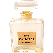 Vintage Miniature Chanel No. 5 Perfume Bottle Made in France