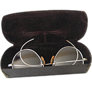 SALE Child Size Eyeglasses Spectacles In Original Case