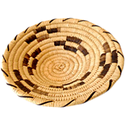 Vintage Hand Woven Papago Indian Basket