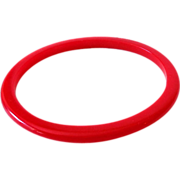 SALE Vintage Cherry Red Bakelite Bracelet Spacer