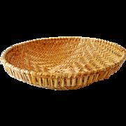 SOLD Vintage Cherokee Winnowing Tray Basket