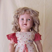SALE 1930's Composition Shirley Temple Doll 20 Inch