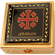 "Vintage Pill Box ""Jerusalem"""