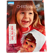 1973 Montgomery Ward Christmas Catalog  Toys Dolls