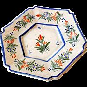 1920s Henriot Quimper Plate France