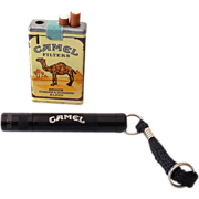 (2) Camel Cigarettes Advertising Promotions Lighter Flashlight