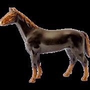 Beautiful Vintage Signed K&O Bronze Metal Horse