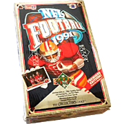 1991 Factory Sealed Box Upper Deck Premier Edition Football Cards