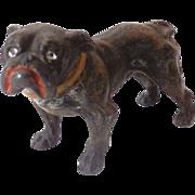 SALE Small Vintage Metal Bull Dog