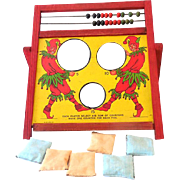 Vintage Bean Bag Toss Game Great Graphics Pixies