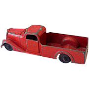 1940s Metal Masters USA Toy Pick Up Truck Die Cast Metal