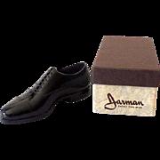 Vintage Miniature Gift Sample Jarman Men's Shoe in Box