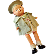 "1930s Composition Arranbee Doll ""Nancy"""