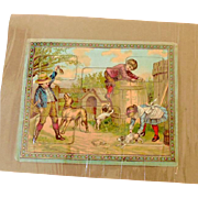 1800's Child's Puzzle Germany
