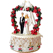 (2) Wedding Cake Topper Decorations Bride and Groom