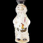 Unusual Figural Black Americana Negro Man Perfume Bottle