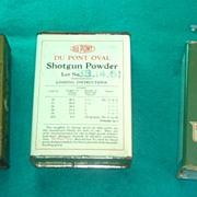 SALE 3 Vintage Shot Gun Powder Advertising Sports Tins