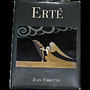 Erte by Jean Tibbetts, 13 Inch by 9.5 Inch Art Book