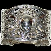 Antique English Hallmarked Sterling Napkin Ring, 1903