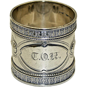 Antique Wood & Hughes Sterling Napkin Ring