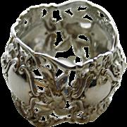 SALE Antique German 800 Napkin Ring