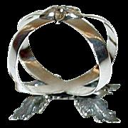 SALE Antique Sterling 1878 Napkin Ring, Sheffield, by Richard Martin and Ebenezer Hall