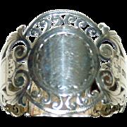 Antique Sheffield Sterling Napkin Ring, 1910, hallmarked
