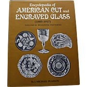 SALE Encyclopedia of American Cut and Engraved Glass (vol. 2) by J. Michael Pearson - Realisti