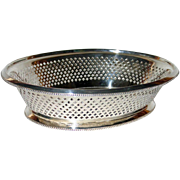 Antique Sheffield Silver Reticulated Basket, 1873, by Atkin, Fully Marked