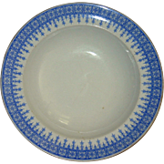 SALE Royal Worcester Blue and White Bowl 1895