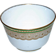 Royal Worcester Bowl w Raised Decoration
