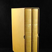 "SOLD Francis Gurney Du Pont ""A Memoir"" Limited Edition 2 Volumes"