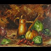 REDUCED Claude Langevin (1942-) Canadian Artist Still Life Painting