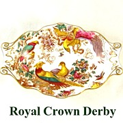 Royal Crown Derby Exotic Birds Nut Dish