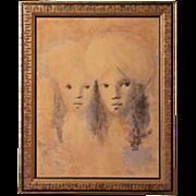 SALE Leonor Fini (1908-1996) Coloured Lithograph S/N Limited Edition