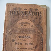 SALE Rare  Delineator Magazines (2) October 1888 and February 1889